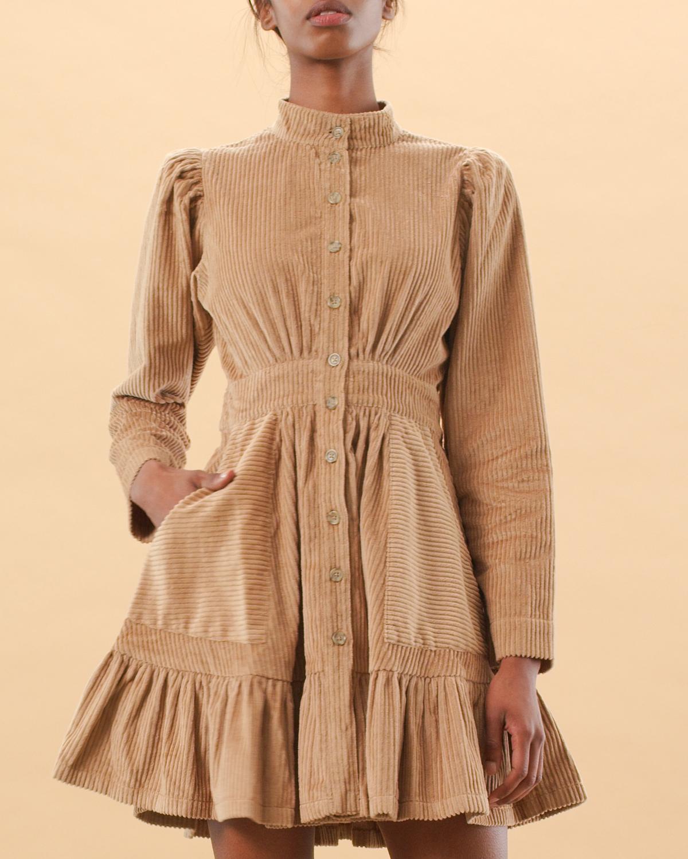 Corduroy Mini Dress
