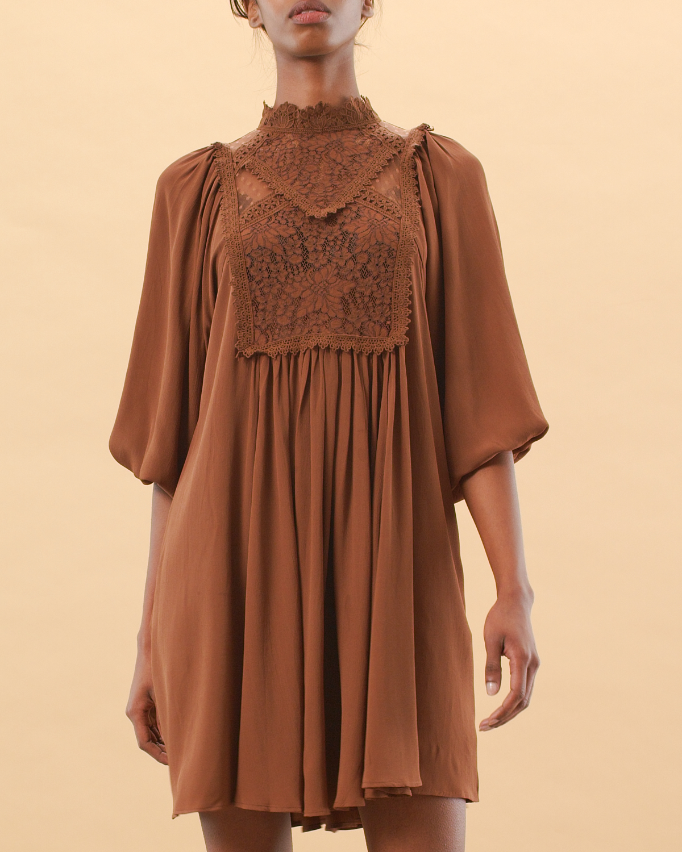 Elegant Lace Shift Dress