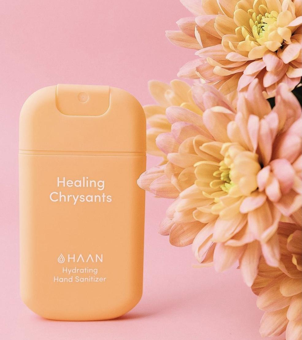 Pocket Sanitizer Healing Chrysants
