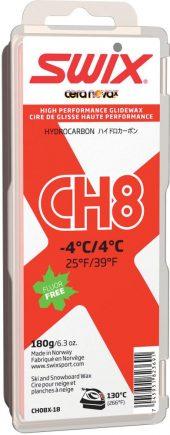 Swix  CH8X Red, -4°C/4°C, 180g