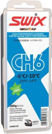 Swix  CH6X Blue, -5 °C/-10°C, 180g