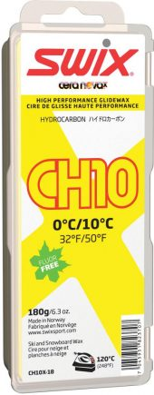 Swix  CH10X Yellow, 0°C/10°C, 180g