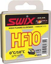 Swix  HF10X Yellow,  0°C/10°C, 40g