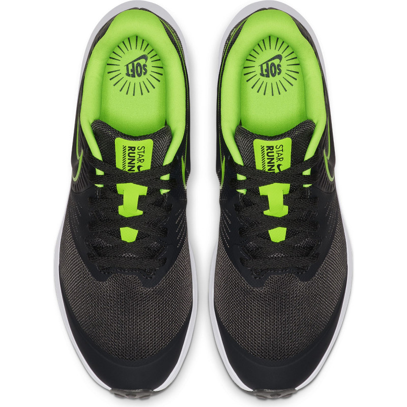AnthraciteElectric Green Star Runner 2 GS Joggesko | Nike