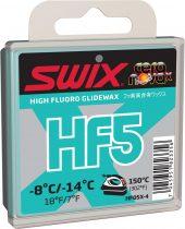Swix  HF5X Turquoise, -8 °C/-14 °C, 40g