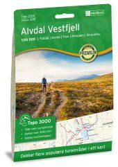Nordeca  Alvdal Vestfjell 1:50 000