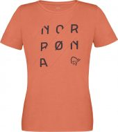 Norrøna  /29 cotton slant logo T-Shirt (W)