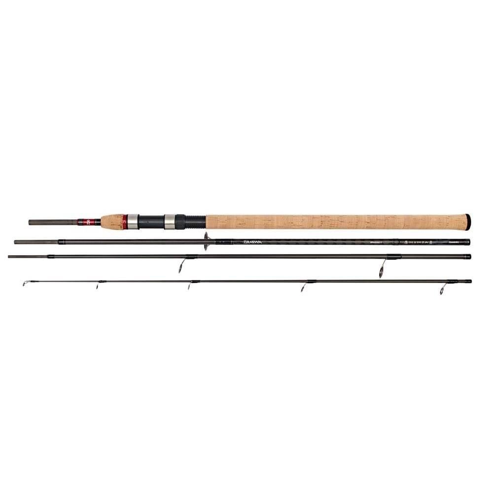 Daiwa Ninja Haspelstang 9' 4-delt 5-25g