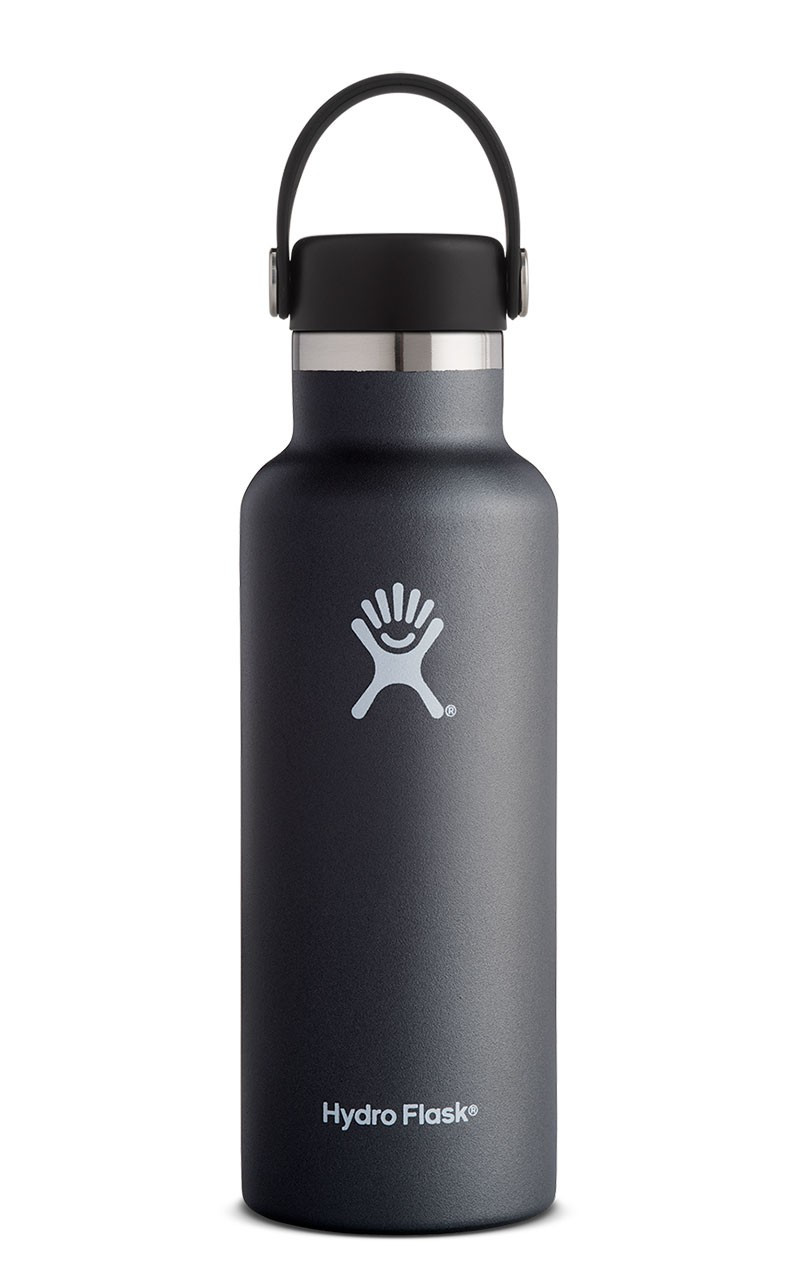 Hydro Flask 21oz Standard Mouth Flex Cap, Black