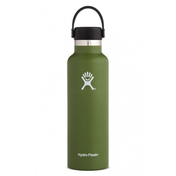 Hydro Flask 21oz Standard Mouth Flex Cap, Olive