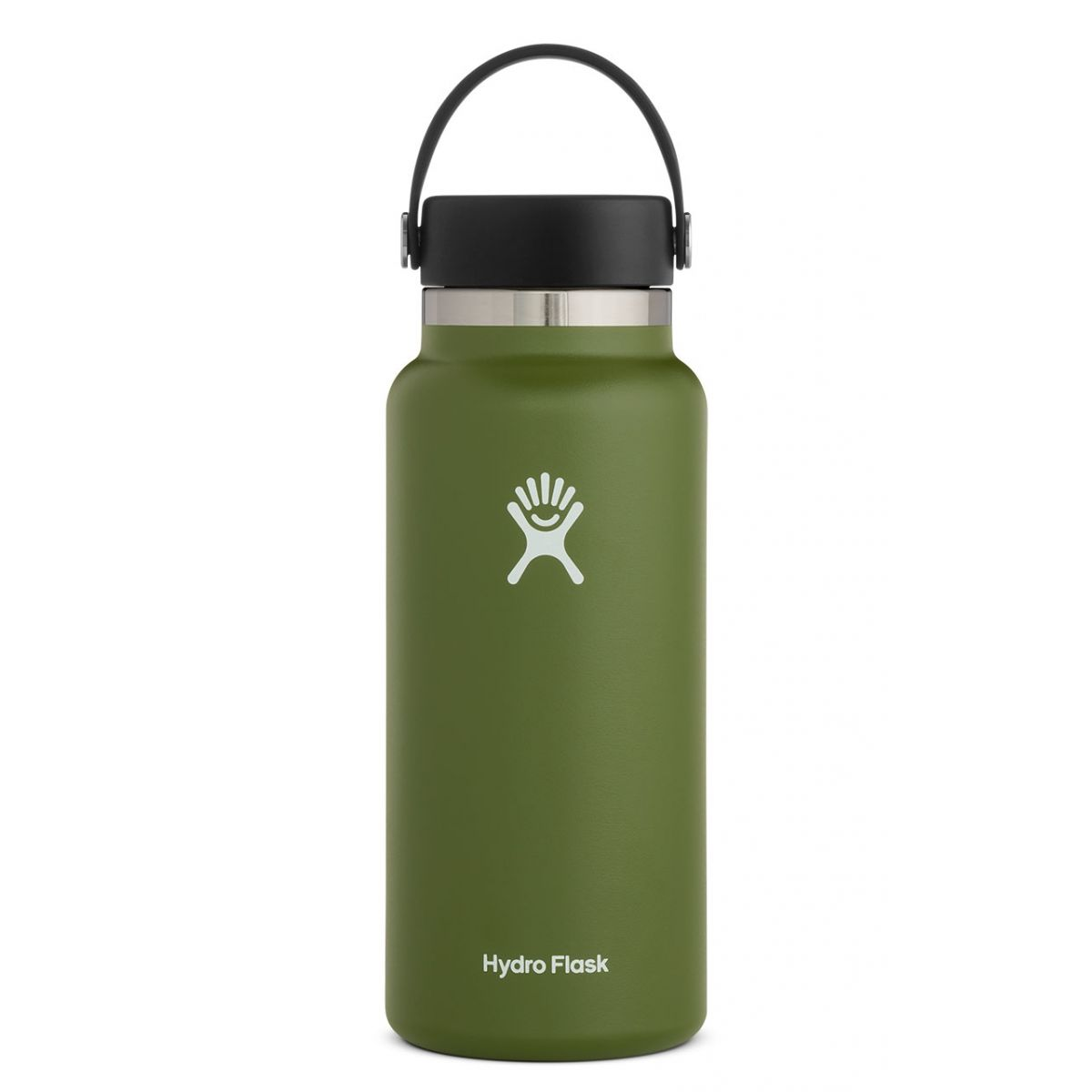 Hydro Flask 32oz Wide Mouth 2.0 Flex Cap, Olive