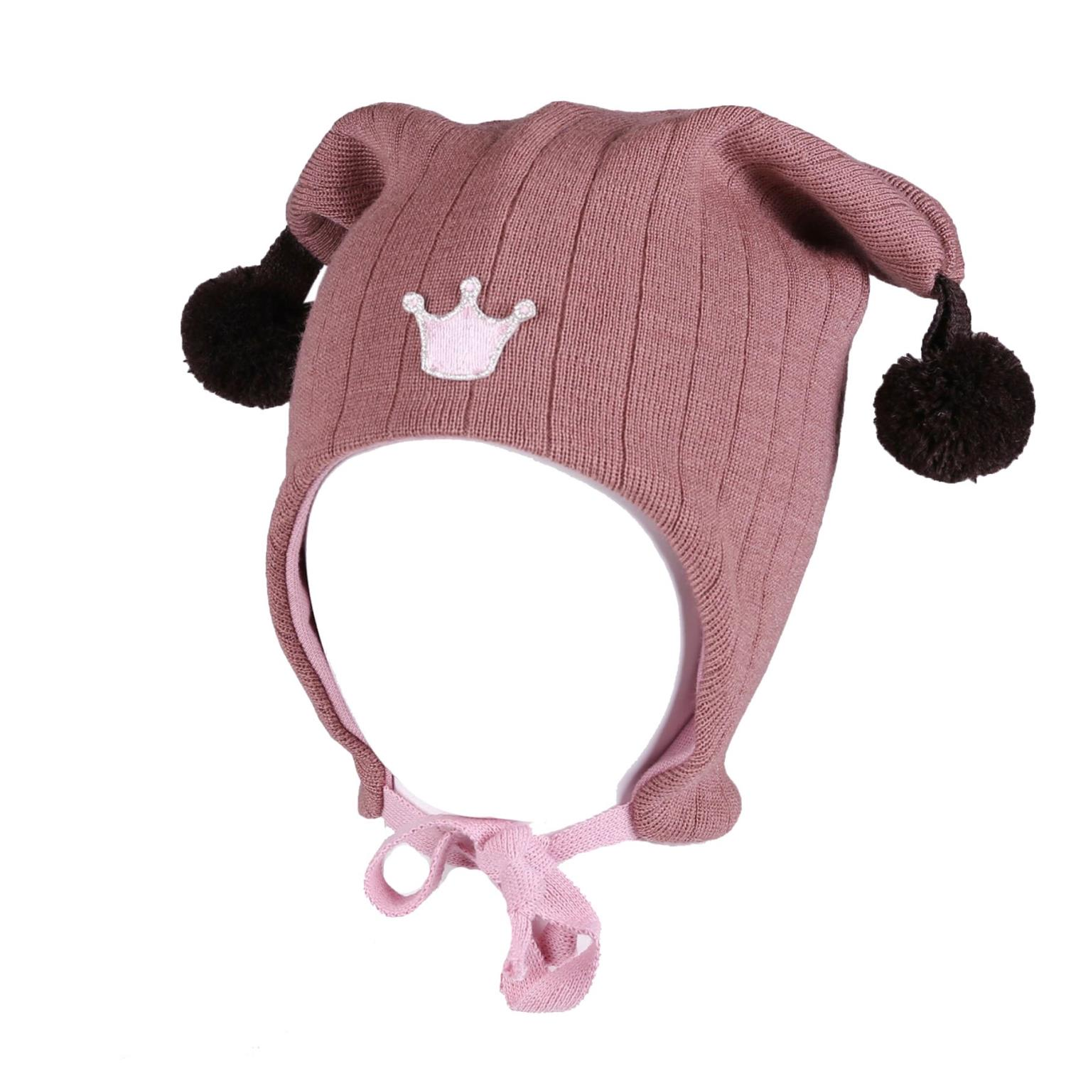 Kivat Joker hat crown, rosa/brun