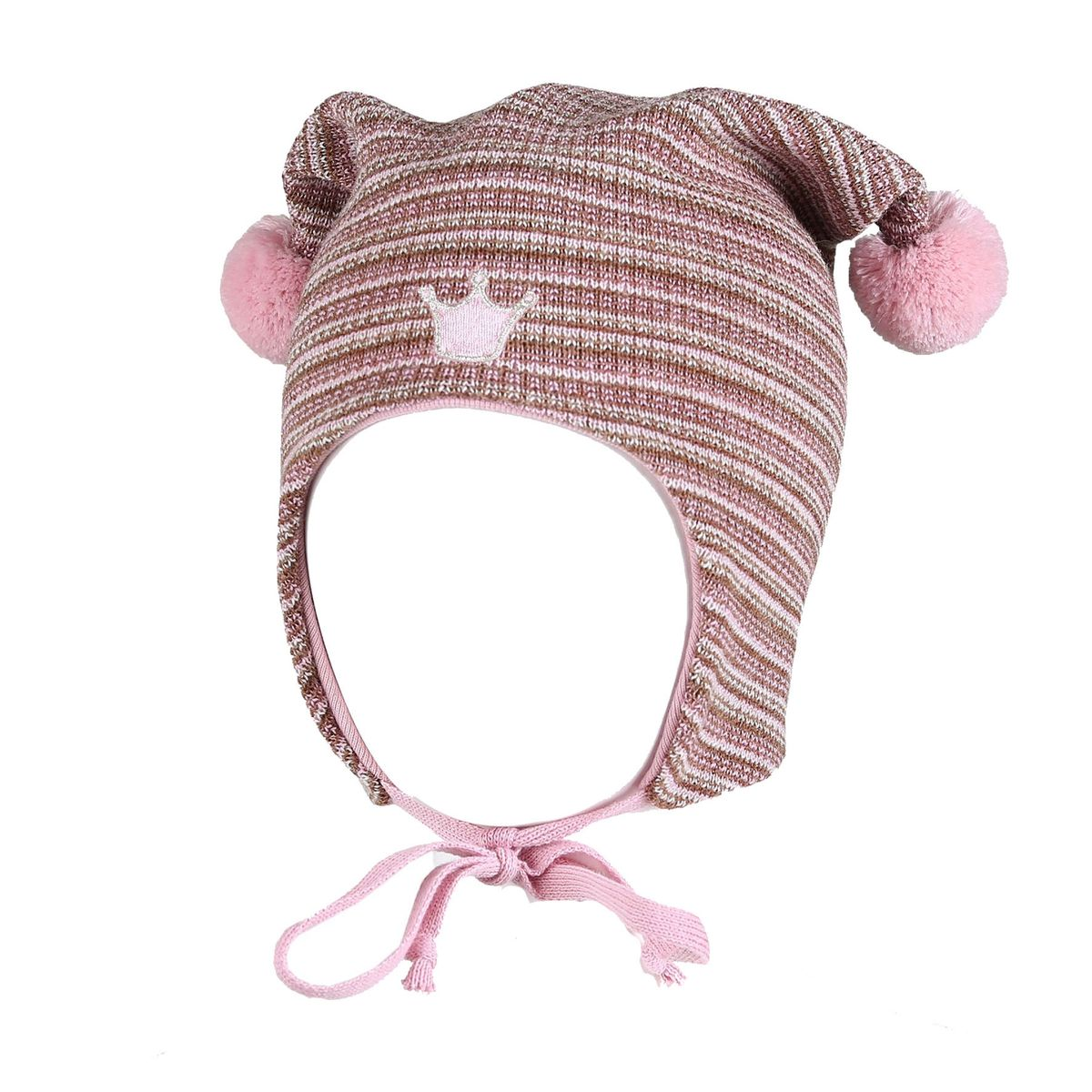 Kivat Striped Hat crown, pink