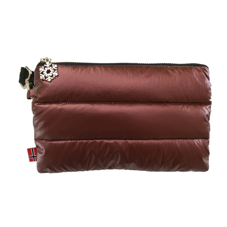 Thermopoc  clutch veske i dun Burgunder 215x135mm