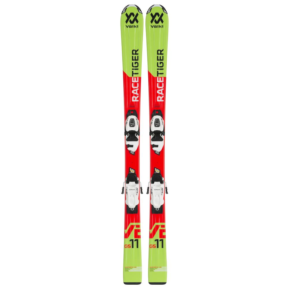 Vølkl  Racetiger Jr - Red m/binding