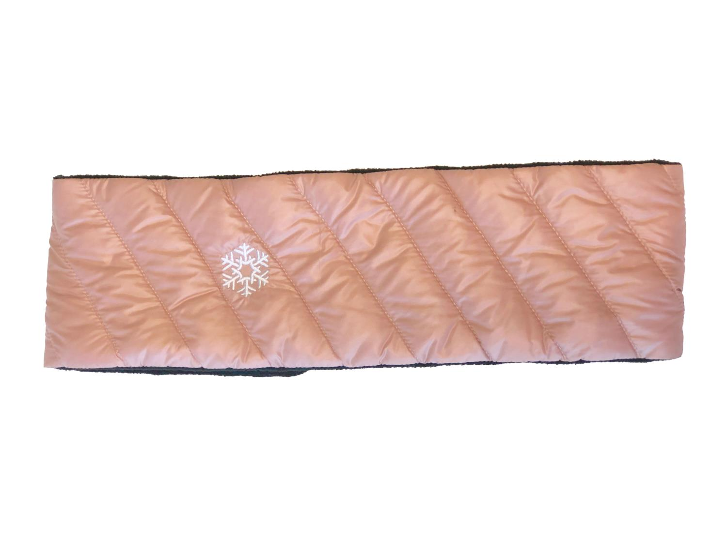 Thermopoc  Pannebånd i dun soft pink 85x660mm