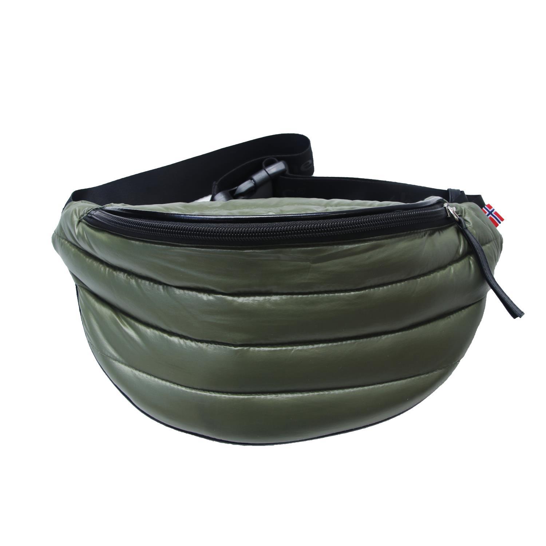 Thermopoc  Bum Bag i dun, Olivengrønn