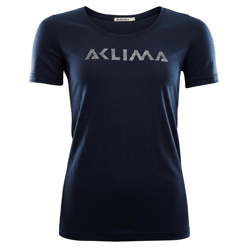 Aclima  LightWool T-shirt LOGO,  Woman