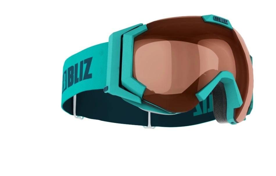 Bliz Goggles Carver Smallface Matt Turquoise