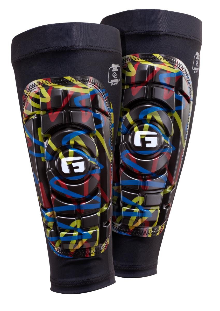 G-Form  Shin guards Pro-S Compact Graffiti