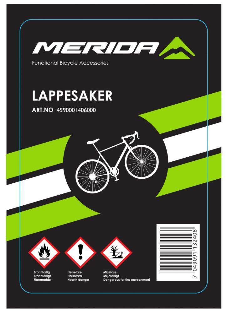 Merida  LAPPESAKER STD LIM/LAPPER/SKRUBB