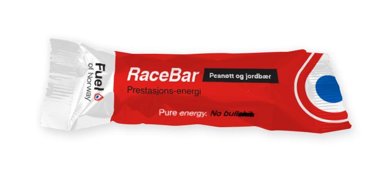 Fuel Racebar Peanøtt og Jordbær 40g
