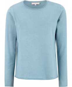 SR Marla O-neck Knit, Roll edge, Soft Rebels