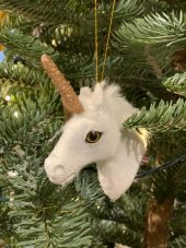 Juletrekule, Enhjørning, Hode