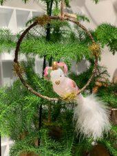 Heng, ring med fugl