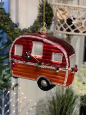 Juletrekule, campingvogn