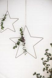 Stjerne, Metall, 46 cm