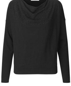 Pullover LS, Black, Rosemunde