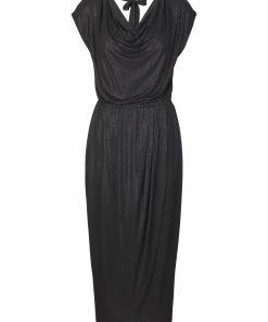 Dress SS, Black Shimmering Dots, Rosemunde