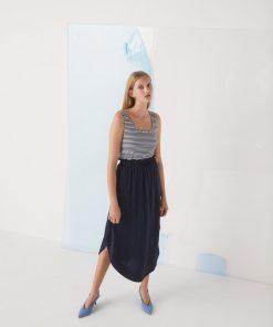 Rine Skirt, Navy, Soft Rebels
