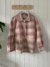 Viksa Jacket, Pink/White, Noella