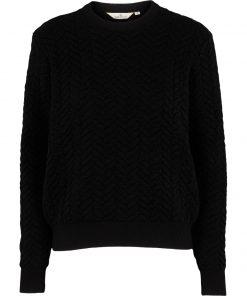 Tilde sweater, Black, Basic Apparel