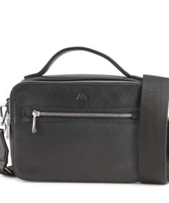 Kyla Crossbody Bag, Black, Markberg