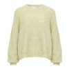 Frenchie Knit Sweater, Yellow, Noella