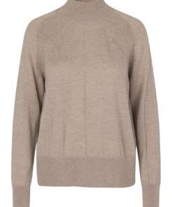 Wool Pullover LS, Atmosphere Melange, Rosemunde