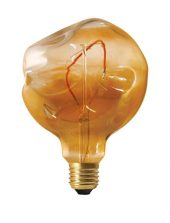 PR LED E27 2,5w Shaped led Amber dimbar
