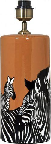 PR Zebra lampefot orange 42cm