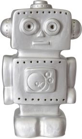Leklyckan Robot Silver 12V 6W LED