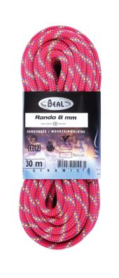 Beal Rando 8mmx30m GOLDEN DRY