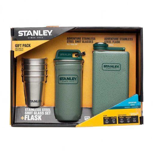 Adventure SS Shots+Flask Gift Set