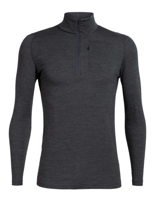 Mens Spring Ridge LS Half Zip