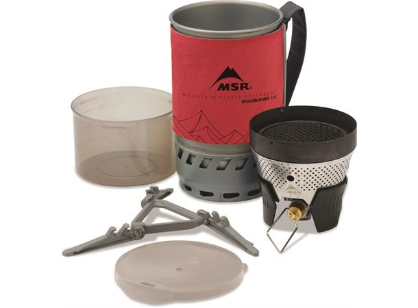 WindBurner 1.0L Personal Stove System - Red