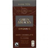 G&B Mørk Sjokolade 70% 90g