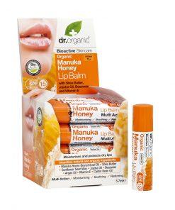 Dr. organic manukahonning leppepomade 5,7ml