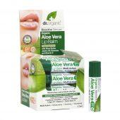 Dr Organic Lip Balm Aloe Vera
