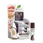 Dr Organic Lip Balm Coconut oil 5.7 ml